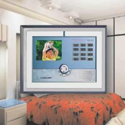 室内分机 v-7嵌入式可视彩色分机-立林科技-楼宇对讲
