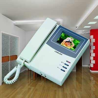 立林科技-楼宇对讲室内分机-v-4可视分机厂家