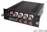 4路視頻+2路雙向音頻+1路數據光端機