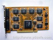 专业监控8路音视频同步采集卡 6802 芯片