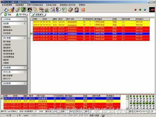 PTK警讯中心报警管理软件--报价