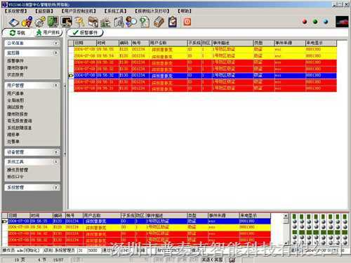 PTK警讯中心报警管理软件-(报价)