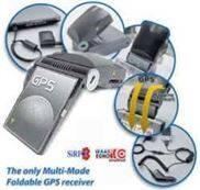 CF界面摺疊式GPS接收器具SD擴充槽