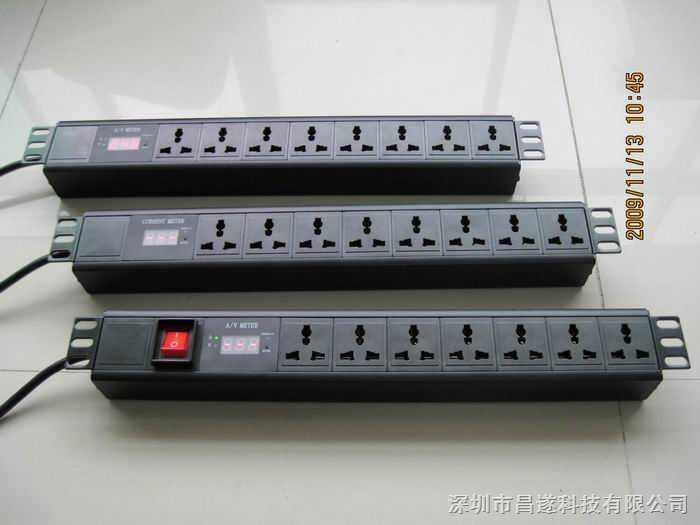 供应显示电流电压的智能pdu