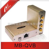 四路混合视频YPbPr色差双绞线延长器MB-QVB