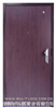 仿木钢质防盗门